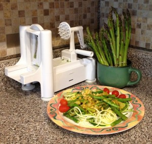 3-in-1 Spiral Veggie Slicer