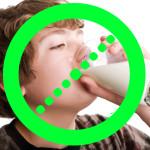 Photo of milk drinker under No Symbol