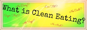 Poster:Come on People, Come Clean about Clean Eating